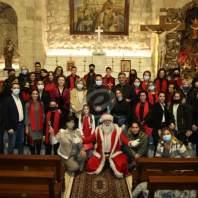 رسيتال جوقة نسروتو في كنيسة مار الياس الحي في وادي العرائش