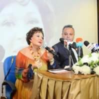 تكريم الممثلة المصرية لبلبة