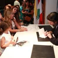 توقيع كتاب ميشال أبو راشد