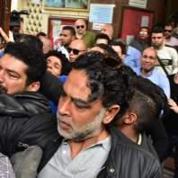 تشييع جنازة هيثم أحمد زكي