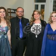 حفل TriOrient أمال ورونزا وفاديا طنب في حمانا