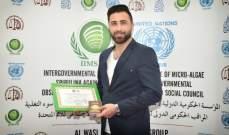 عبد الكريم حمدان سفيراً للنوايا الحسنة رسمياً