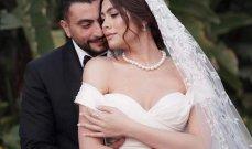 هاجر أحمد بأول ظهور لها مع زوجها من شهر العسل- بالصور
