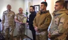 الجيش اللبناني يكرّم عاصي الحلاني .. بالصور
