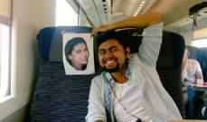 هندي يسافر لقضاء شهر العسل مع صورة زوجته