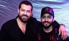 عمرو يوسف يبارك لـ تامر حسني على أغنيته الجديدة بطريقة مميزة-بالفيديو