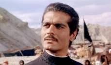 """إختيار """"لورنس العرب"""" لـ عمر الشريف كأفضل فيلم عالمي في القرن العشرين"""