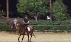 """محمد رمضان يتدرّب على الفروسية إستعداداً لـ""""الكنز"""".. بالفيديو"""