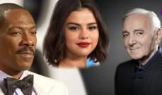 في الـ2018:رحل شارل أزنافور وانهارت سيلينا غوميز و إيدي مورفي بات اباً للمرة العاشرة