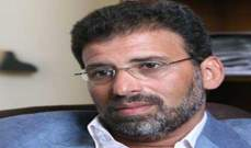 """خالد يوسف: """"النصر للثورة والعار للجماعة"""""""