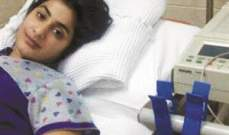 الارهاق يدخل الفنانة شهد الى المستشفى
