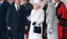 """ملكة بريطانيا تقيم مأدبة """"حلال"""" على شرف الرئيس التركي"""
