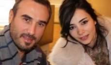 بعد الزواج المدني في قبرص .. باسم مغنية وشيرين منسّى يحتفلان في لبنان