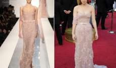 كيت مارا في فستان يبرز انوثتها من تصميم اللبناني جاك غيسو في الاوسكار