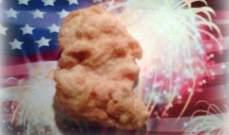 قطعة ناغيت تشبه جورج واشنطن تباع بأكثر من 8 آلاف دولار