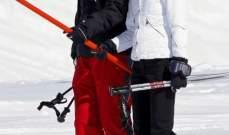 الأمير ويليام وكايت ميدلتون على الثلج.. بالصور
