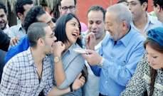 """نور الشريف: هالة صدقي تعاني مع زوجها .. و""""عرفة"""" لا يشبه الحاج متولي"""