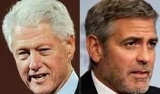 بيل كلينتون يختار جورج كلوني ليجسد شخصيته