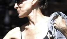 من عجلتها..سارة جيسيكا باركر تنسى ارتداء حمالة صدر