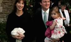 زوجة رئيس الوزراء البريطاني تقر بمسؤوليتها عن نسيان ابنتها بحانة