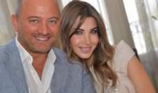 بالصورة- غزل من نانسي عجرم لزوجها في عيد ميلاده