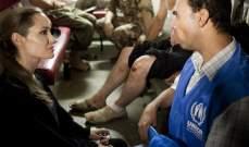 انجلينا جولي في الأردن لمساعدة اللاجئين السوريين