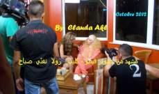 رولى سعد تنفي والصور تؤكد مشاركة صباح في كليب ساعات ساعات