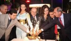 نقابة ممثلي الشمال تكرم سوسن السيد ودومينيك نجمة السهرة .. بالصور