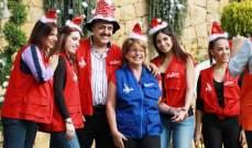 نجوم لبنان ينقسمون الى فريقين .. ويتنافسون على الساحة في الميلاد