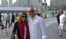 ماذا تفعل نانسي عجرم مع زوجها في دبي ؟