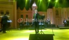 خاص النشرة: وائل جسار يعتذر من جمهوره ويغني بلاي باك في سوق واقف