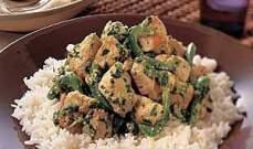 أكل الشيف:دجاج بالكاري الأخضر Green Curry