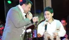 ربيع الاسمر وجورج زغيب وديو خلال حفل عيد الفصح.. بالصور
