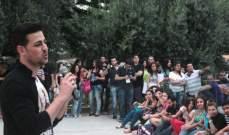 أنور نور يلتقي شباب جامعات لبنان ويولع الأجواء..  وميني ألبوم قريب