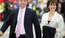 زوجة طوني بلير تنفي أي علاقة غرامية بين الاخير وزوجة مردوخ