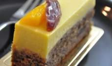 حلويات الشيف: موس شوكولا مع صلصة المانغا