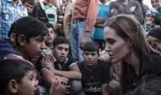 أنجلينا جولي مع اللاجئين في الأردن: أزمة سوريا الأسوأ في القرن 21