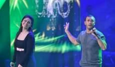نور عرقسوسي وكاظم الساهر معاً على مسرح بيت الدين