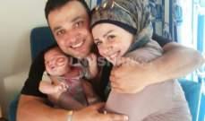 بالصور-النشرة تنفرد بنشر اول صورة لطارق مرعشلي مع ابنته سيلا