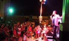 """باسل عيد يتألق في مهرجان """"القديسة رفقا""""..بالصور"""