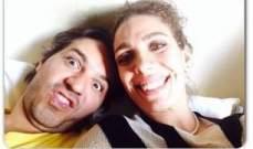 سينتيا كرم وبرونو طبال في صور مجنونة وغريبة