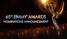 أسماء المرشحين لنيل جائزة Emmy Awards 2013