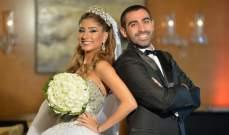الزميلان حسن شقور ونبيلة بزي يحتفلان بزفاف ابنتهما مايا- بالصور