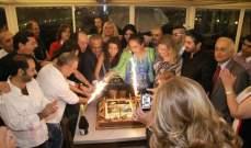 """فريق عمل """"ضيعة ولقيناها"""" يحتفل بإنتهاء تصوير المسلسل .. بالصور"""