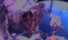 الشعلة الأولمبية جالت في الفضاء لأول مرة في التاريخ