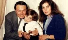 صورة نادرة لشريف رمزي في طفولته مع جده الراحل صلاح ذو الفقار