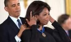"""أوباما يمنح وسام """"الحرية"""" لـ 16 شخصاً بينهم أوبرا وينفري..بالصور"""