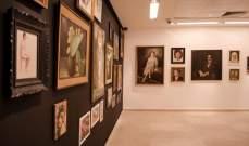 معرض للفنان جورج داوود قرم في صالة الجامعة الأميركية في بيروت