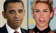 أوباما مايلي سايرس وليدي غاغا الأقل تأثيراً لعام 2013