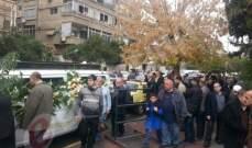 خاص بالصور- دمشق تشيّع سليم كلاس إلى مثواه الأخير وتحتضنه بين ترابها